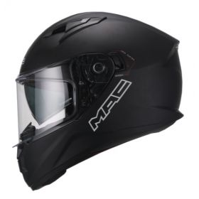 MAC CASCO SPEED 2.0 SOLID BLACK MAT